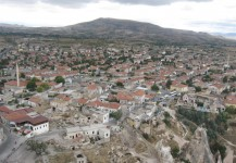 Uchisar from Castle